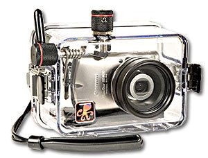 Underwater Housing for Canon PowerShot SD900, IXUS 900 Ti