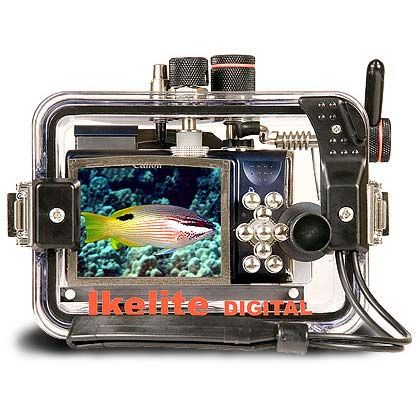 Underwater Housing for Canon PowerShot SX200 IS
