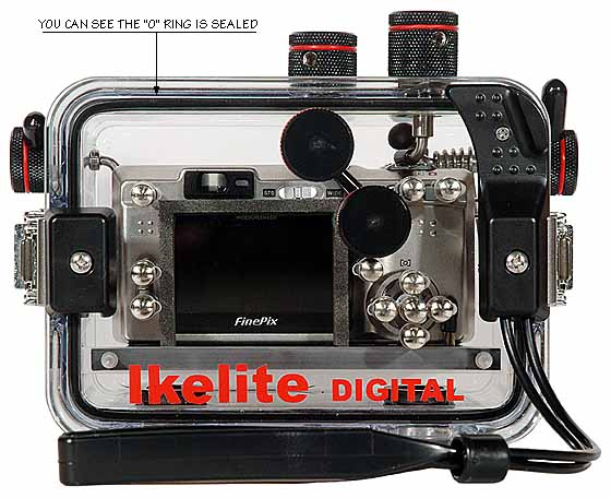 Underwater Housing for Fujifilm F-810 Zoom