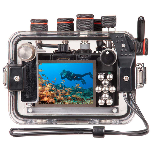 Underwater Housing for Panasonic Lumix LX7 Leica D-LUX 6