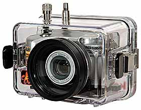 Underwater Housing for Nikon COOLPIX 4800