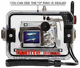 Underwater Housing for Nikon COOLPIX 4600, 5600