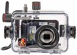 Underwater Housing for Nikon COOLPIX P1, P2