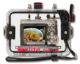 Underwater Housing for Nikon COOLPIX P3, P4