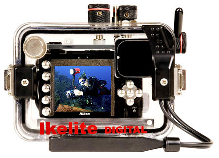 Underwater Housing for Nikon COOLPIX P5000, P5100