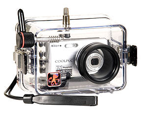 Underwater Housing for Nikon COOLPIX S200