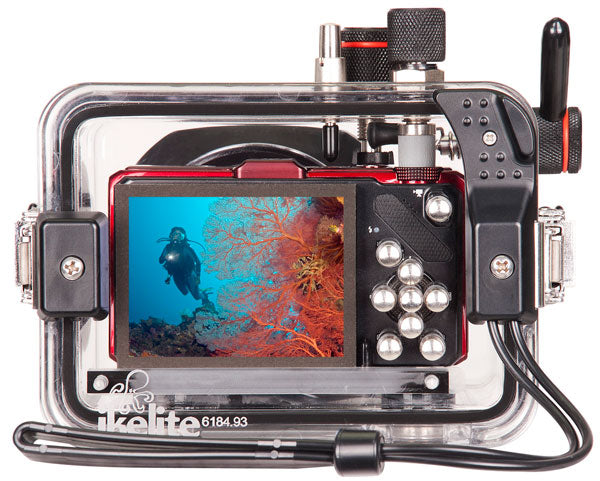 Underwater Housing for Nikon COOLPIX S9200, S9300