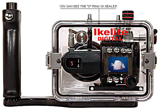 Underwater Housing for Nikon COOLPIX 4500