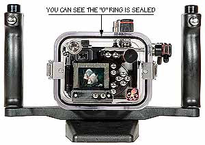 Underwater Housing for Nikon COOLPIX 8400