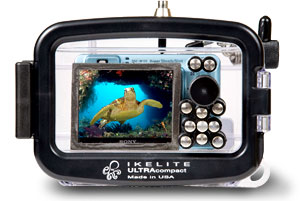 Underwater Housing for Sony Cyber-shot W110, W120, W130