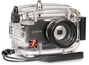 Underwater Housing for Sony Cyber-shot W180, W190
