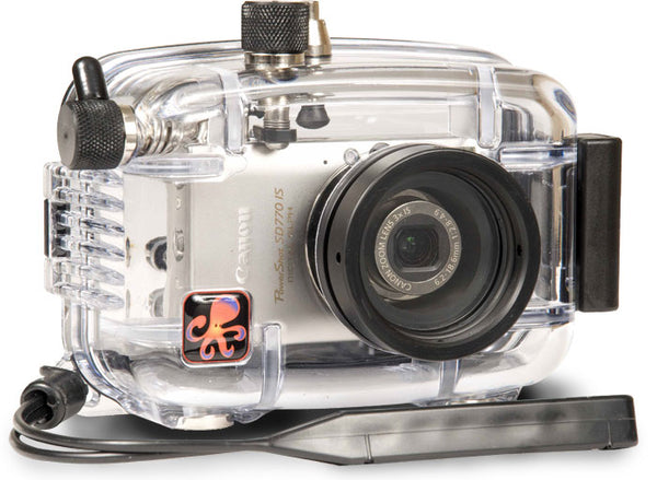 Underwater Housing for Canon PowerShot SD770 IS, IXUS 85 IS, IXY 25 IS