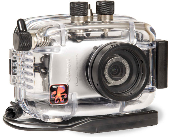Underwater Housing for Canon PowerShot SD880 IS, IXUS 870 IS, IXY 920 IS