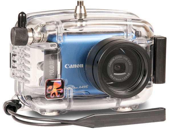 Underwater Housing for Canon PowerShot A490, A495