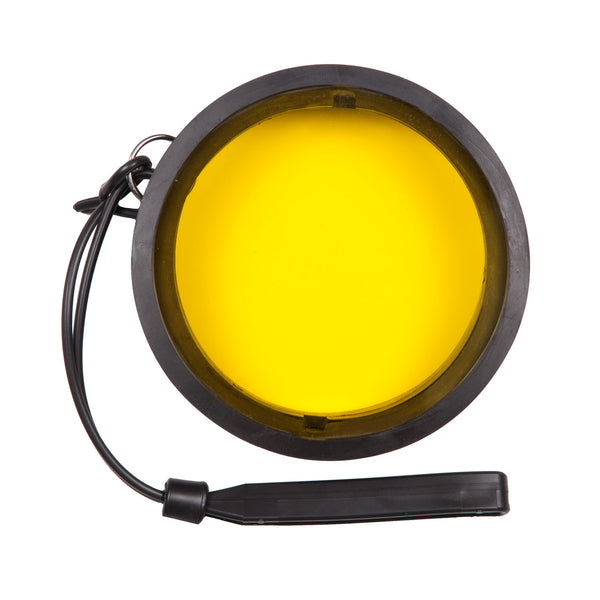 Yellow Fluorescence Filter for 3 Inch Diameter Ports