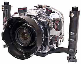 200FL Underwater TTL Housing for Nikon D70, D70s DSLR