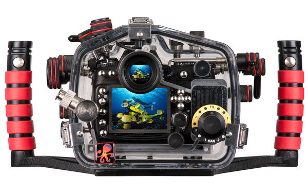 200FL Underwater TTL Housing for Nikon D300 DSLR