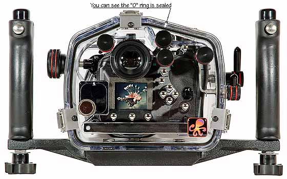 200FL Underwater Housing for Olympus E-1 DSLR