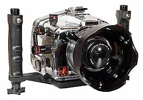 200FL Underwater Housing for Olympus E-30 DSLR Underwater Housing for Olympus E-300 DSLR