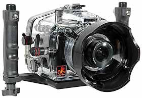 200FL Underwater Housing for Olympus E-500 DSLR