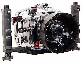 200FL Underwater TTL Housing for Canon EOS 300D Rebel DSLR