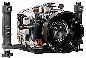 200FL Underwater TTL Housing for Canon EOS 10D DSLR Camera