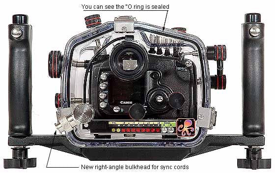 200FL Underwater TTL Housing for Canon EOS 20D DSLR Camera