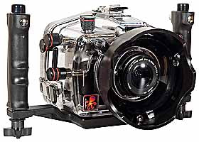 200FL Underwater TTL Housing for Canon EOS 400D Rebel XTi DSLR Cameras