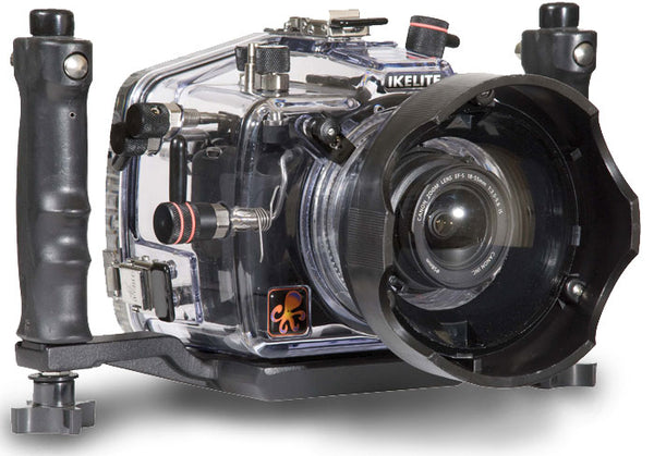 200FL Underwater TTL Housing for Canon EOS 1000D Rebel XS DSLR