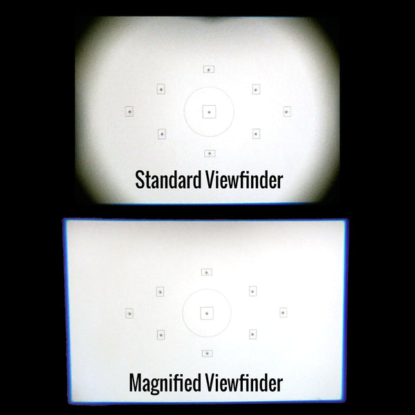 Straight Magnified Viewfinder for DSLR and Mirrorless Housings