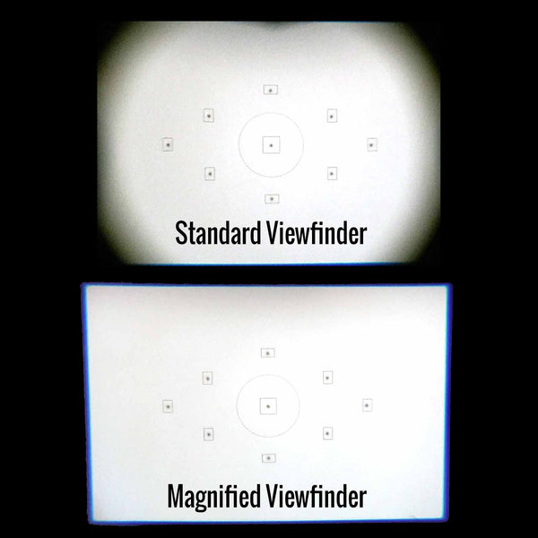 45 Degree Magnified Viewfinder for DSLR and Mirrorless Housings (Type 2)