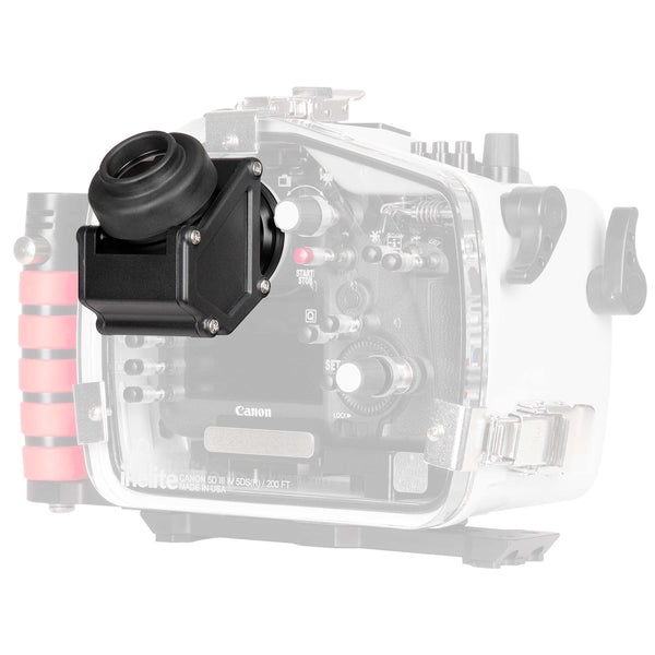 45 Degree Magnified Viewfinder for DSLR and Mirrorless Housings (Type 1)