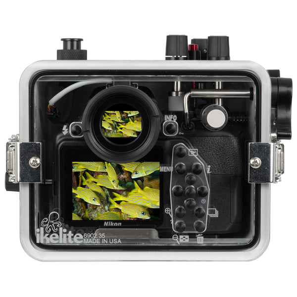 200DLM/C Underwater TTL Housing for Nikon D5300 DSLR
