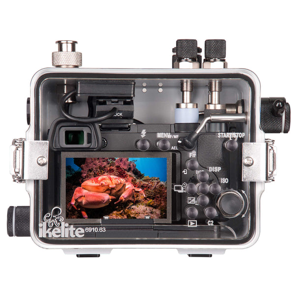 200DLM/A Underwater TTL Housing for Sony Alpha A6300 Mirrorless Camera