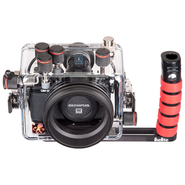200DLM/A Underwater TTL Housing for Olympus OM-D E-M10 Mark II Mirrorless Micro Four-Thirds Cameras