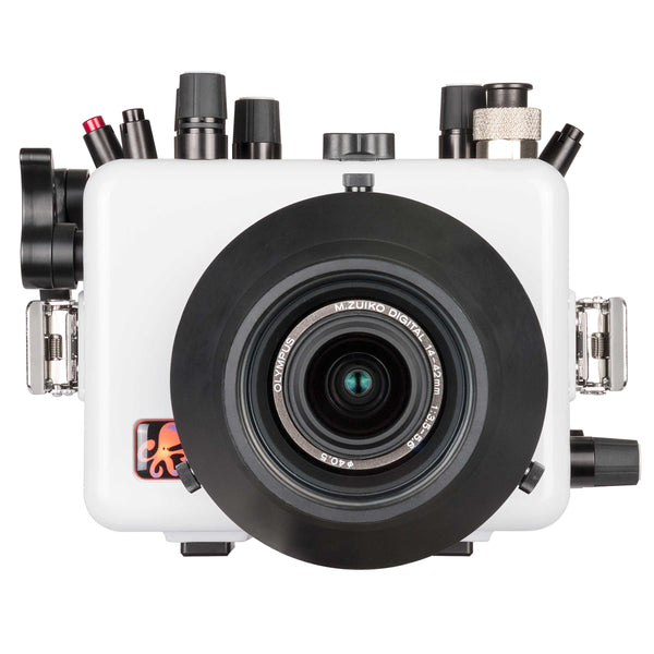 200DLM/A Underwater TTL Housing for Olympus OM-D E-M10 Mark III Mirrorless Micro Four-Thirds Cameras