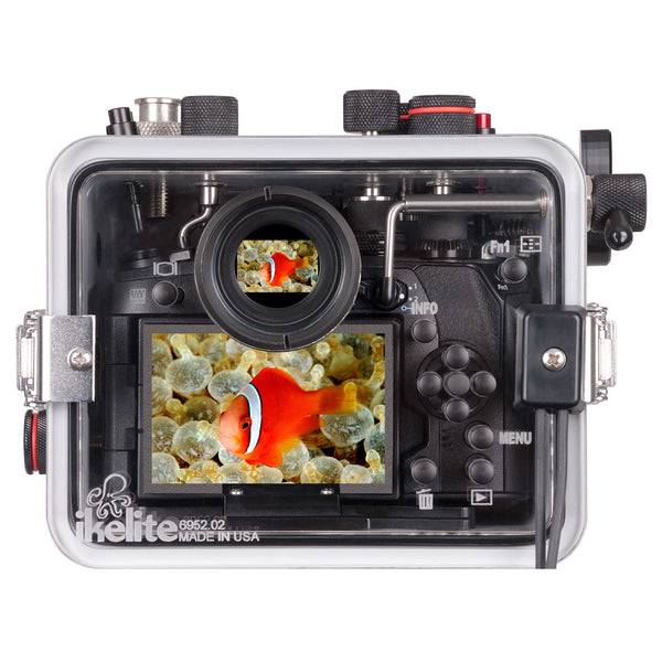 200DLM/B Underwater TTL Housing for Olympus OM-D E-M1 Mark II Mirrorless Micro Four-Thirds Cameras