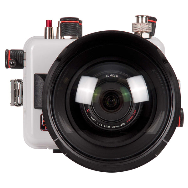 200DLM/B Underwater TTL Housing for Panasonic Lumix G7 Mirrorless Micro Four-Thirds Cameras