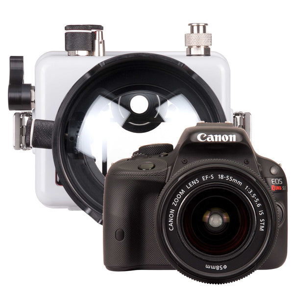 200DLM/C Underwater Housing and Canon Rebel SL1 Camera Kit