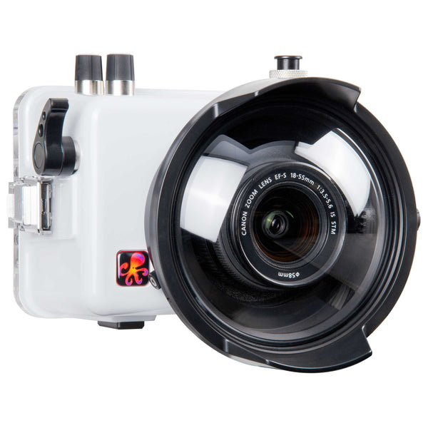 200DLM/C Underwater TTL Housing for Canon EOS 200D Rebel SL2 DSLR