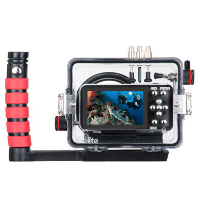 200dlm A Underwater Housing For Blackmagic Pocket Cinema Mirrorless Mi Ikelite