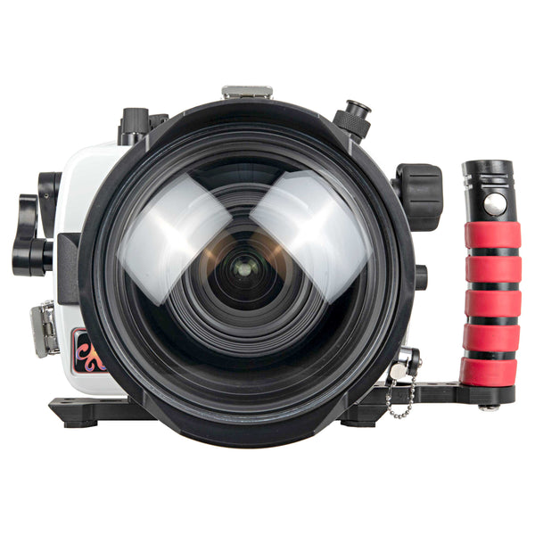 200DL Underwater Housing for Canon EOS 750D Rebel T6i, Kiss X8i DSLR Cameras