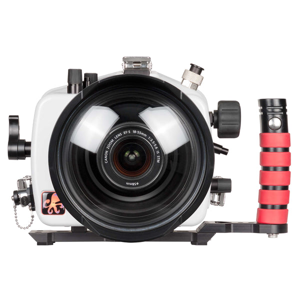 200DL Underwater Housing for Canon EOS 800D Rebel T7i, Kiss X9i DSLR Cameras