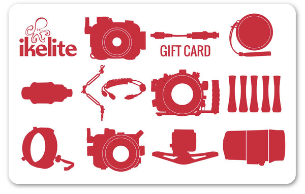 Ikelite Gift Card (Physical Card)