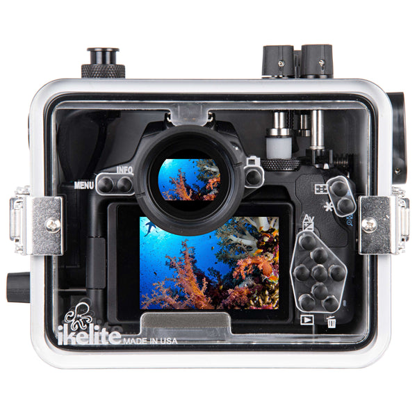 200DLM/C Underwater TTL Housing for Canon EOS 250D Rebel SL3, EOS 200D Mark II, Kiss X10 DSLR