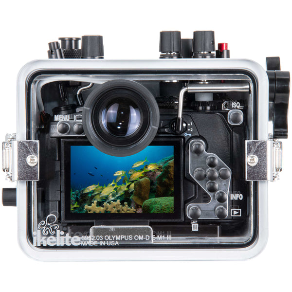 200DLM/B Underwater Housing for Olympus OM-D E-M1 III Mirrorless Cameras