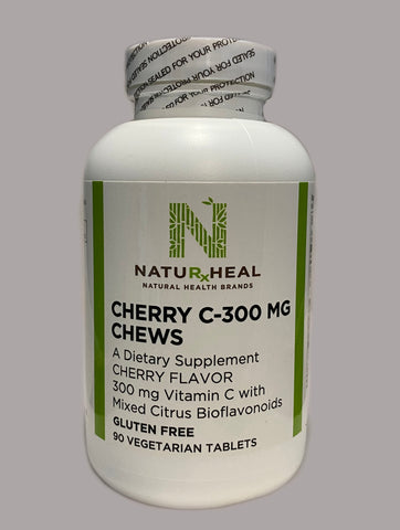 Cherry C-300 mg Chews 90 vegetarian tablets
