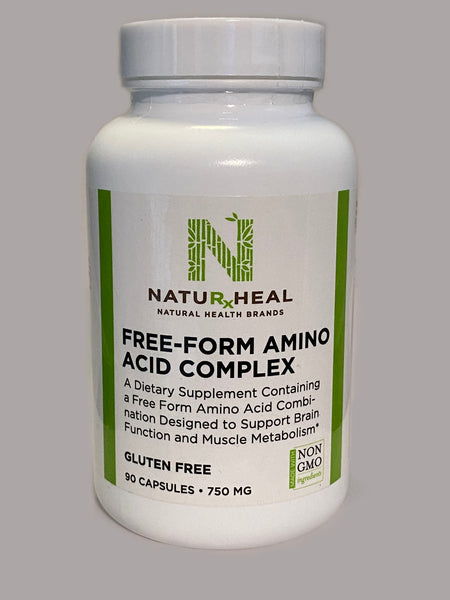 Free-Form Amino Acid Complex 90 capsules 750MG