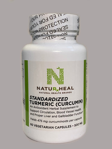 TURMERIC (CURCUMIN) STANDARDIZED 500MG 60 VEG CAPS