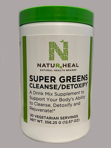 SUPER GREENS cleanse/detoxify 12.57 oz